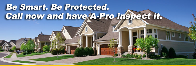 Have A-Pro Morristown Inspect It