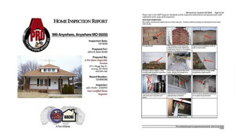 A-Pro Morristown will give you a full color professional report