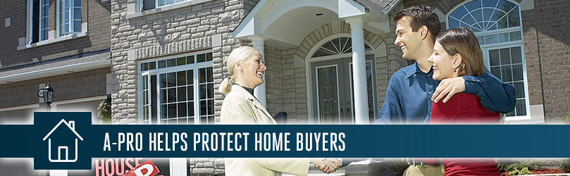 A-Pro Morristown helps to protect home buyers